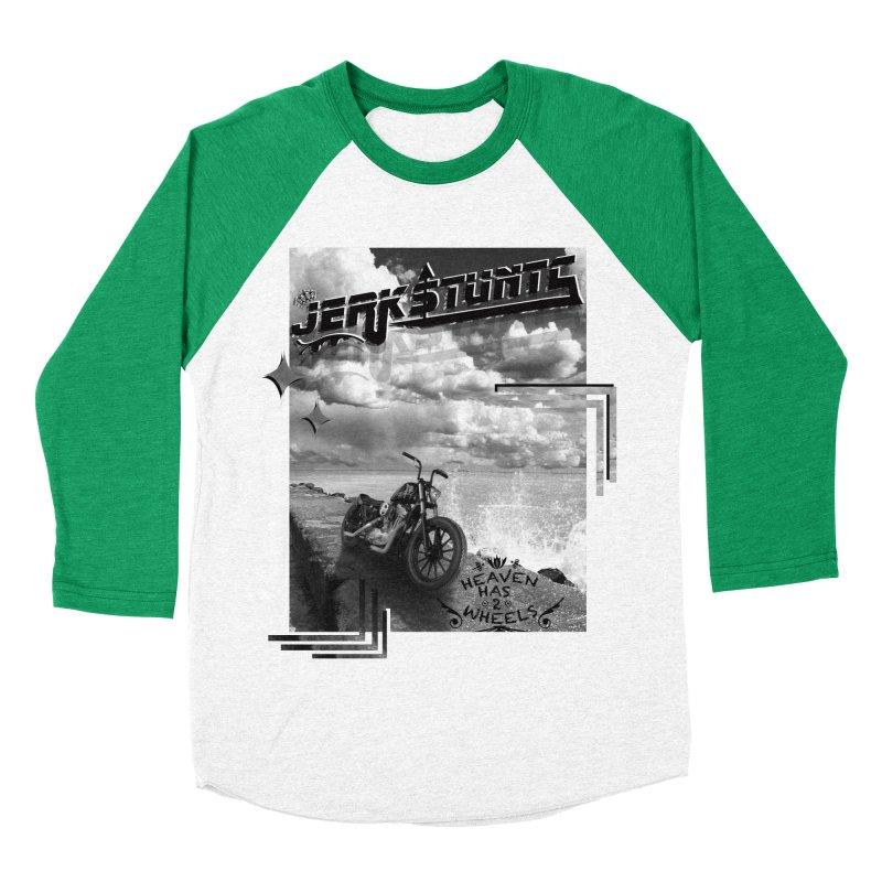 HEAVEN HAS 2 WHEELS CYBERTECH REMIX Women's Baseball Triblend Longsleeve T-Shirt by ExploreDaily's Artist Shop