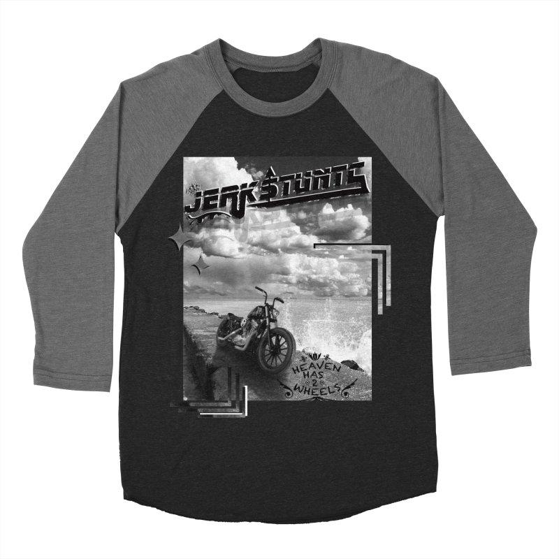 HEAVEN HAS 2 WHEELS CYBERTECH REMIX Men's Baseball Triblend Longsleeve T-Shirt by ExploreDaily's Artist Shop