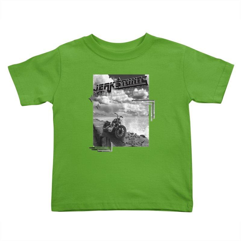 HEAVEN HAS 2 WHEELS CYBERTECH REMIX Kids Toddler T-Shirt by ExploreDaily's Artist Shop