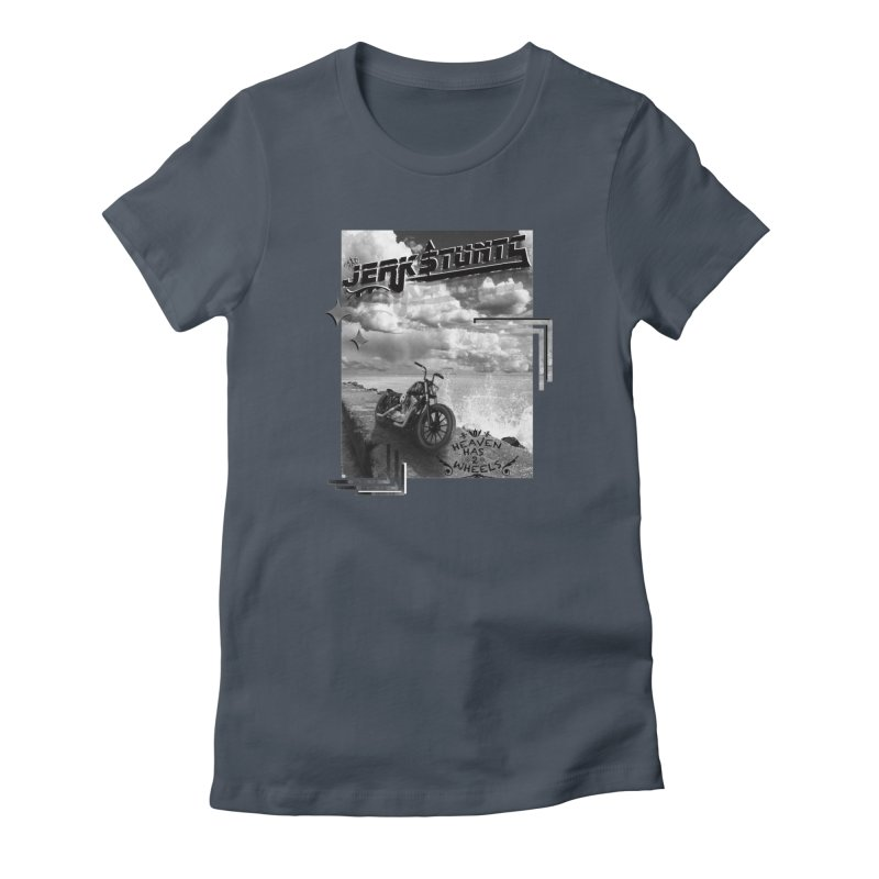 HEAVEN HAS 2 WHEELS CYBERTECH REMIX Women's T-Shirt by ExploreDaily's Artist Shop