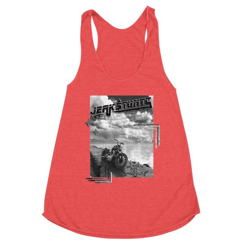 HEAVEN HAS 2 WHEELS CYBERTECH REMIX Women's Tank by ExploreDaily's Artist Shop