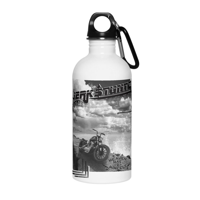 HEAVEN HAS 2 WHEELS CYBERTECH REMIX Accessories Water Bottle by ExploreDaily's Artist Shop