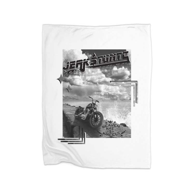 HEAVEN HAS 2 WHEELS CYBERTECH REMIX Home Fleece Blanket Blanket by ExploreDaily's Artist Shop