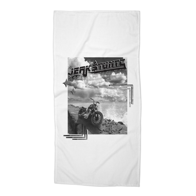 HEAVEN HAS 2 WHEELS CYBERTECH REMIX Accessories Beach Towel by ExploreDaily's Artist Shop