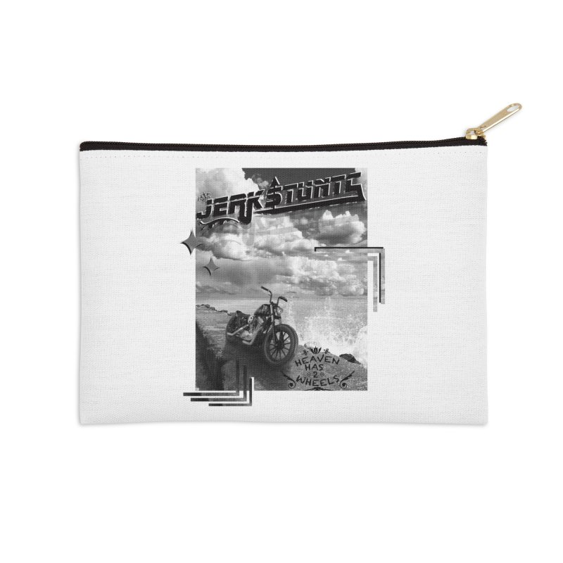 HEAVEN HAS 2 WHEELS CYBERTECH REMIX Accessories Zip Pouch by ExploreDaily's Artist Shop