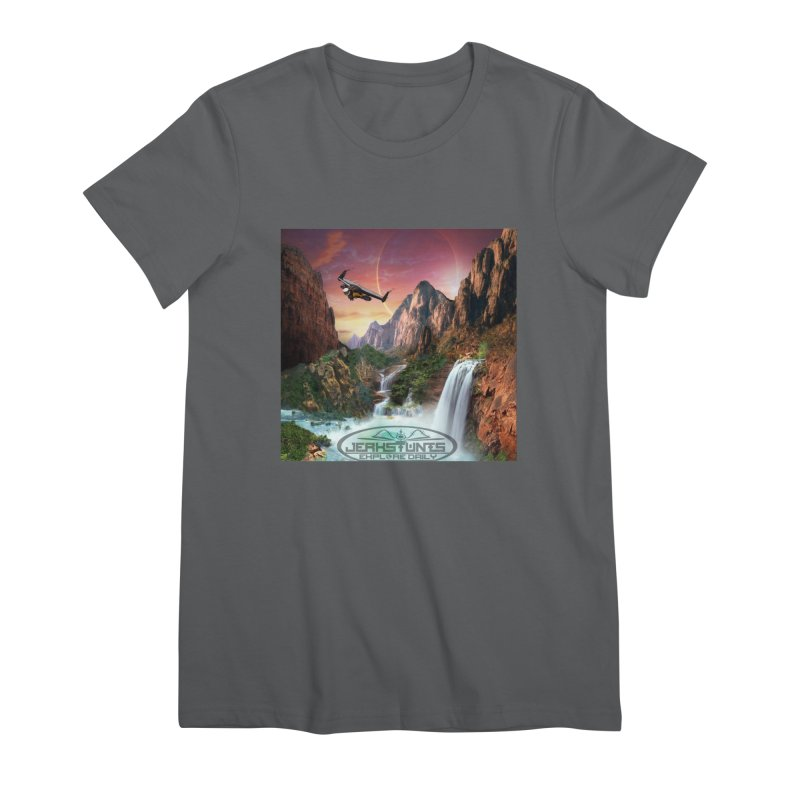 WINGMAN EXPLORE DAILY JERKSTUNTS LIFESTYLE Women's T-Shirt by ExploreDaily's Artist Shop