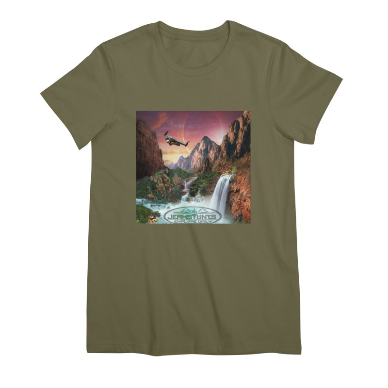 WINGMAN EXPLORE DAILY JERKSTUNTS LIFESTYLE Women's T-Shirt by ExploreDaily's Artist Shop