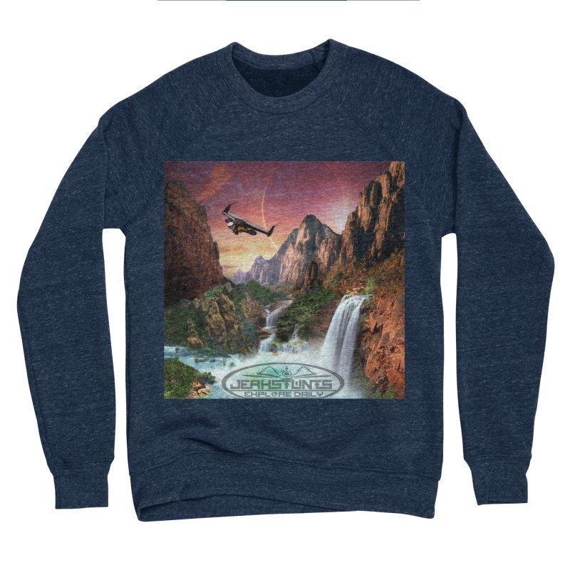 WINGMAN EXPLORE DAILY JERKSTUNTS LIFESTYLE Women's Sponge Fleece Sweatshirt by ExploreDaily's Artist Shop