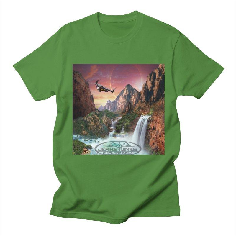WINGMAN EXPLORE DAILY JERKSTUNTS LIFESTYLE Women's Regular Unisex T-Shirt by ExploreDaily's Artist Shop