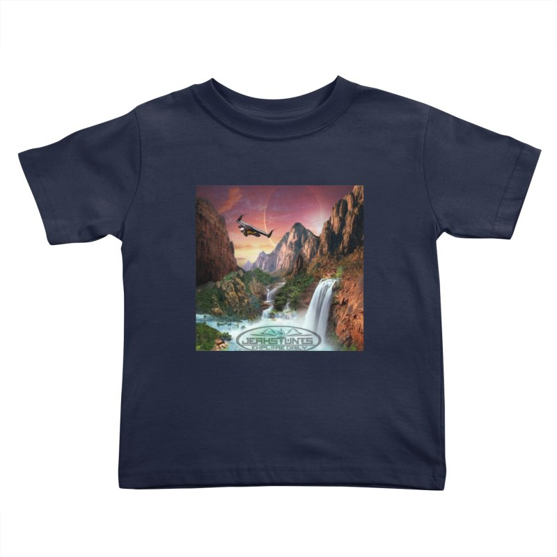 WINGMAN EXPLORE DAILY JERKSTUNTS LIFESTYLE Kids Toddler T-Shirt by ExploreDaily's Artist Shop