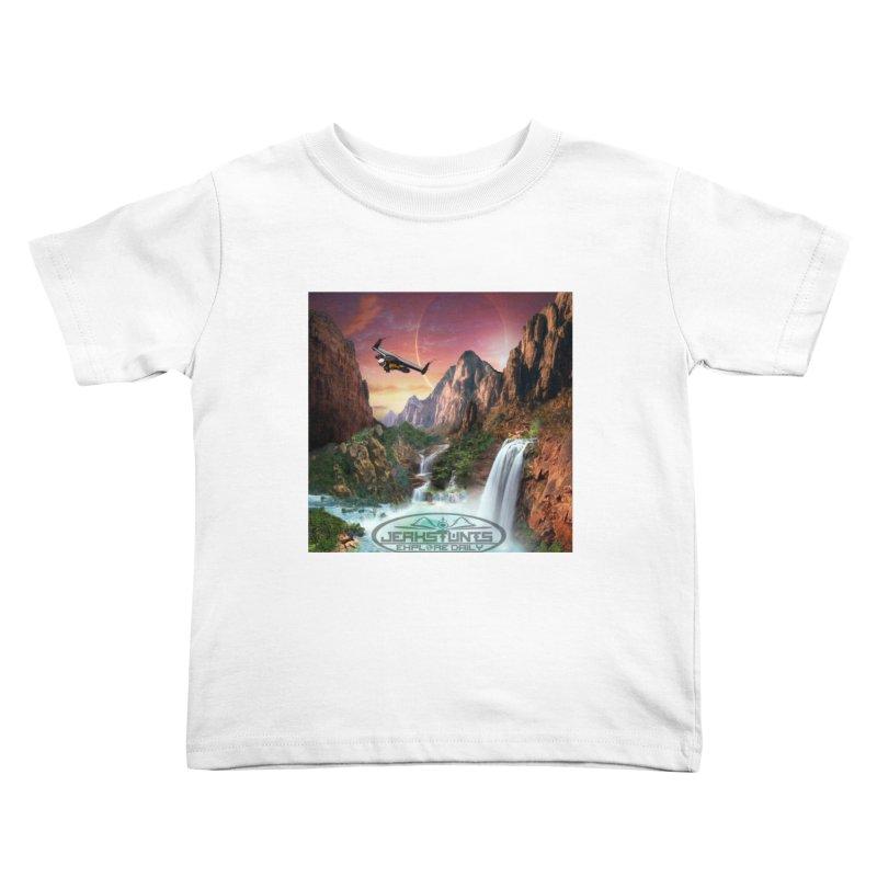 WINGMAN EXPLORE DAILY JERKSTUNTS LIFESTYLE Kids Toddler T-Shirt by ExploreDaily's Artist Shop