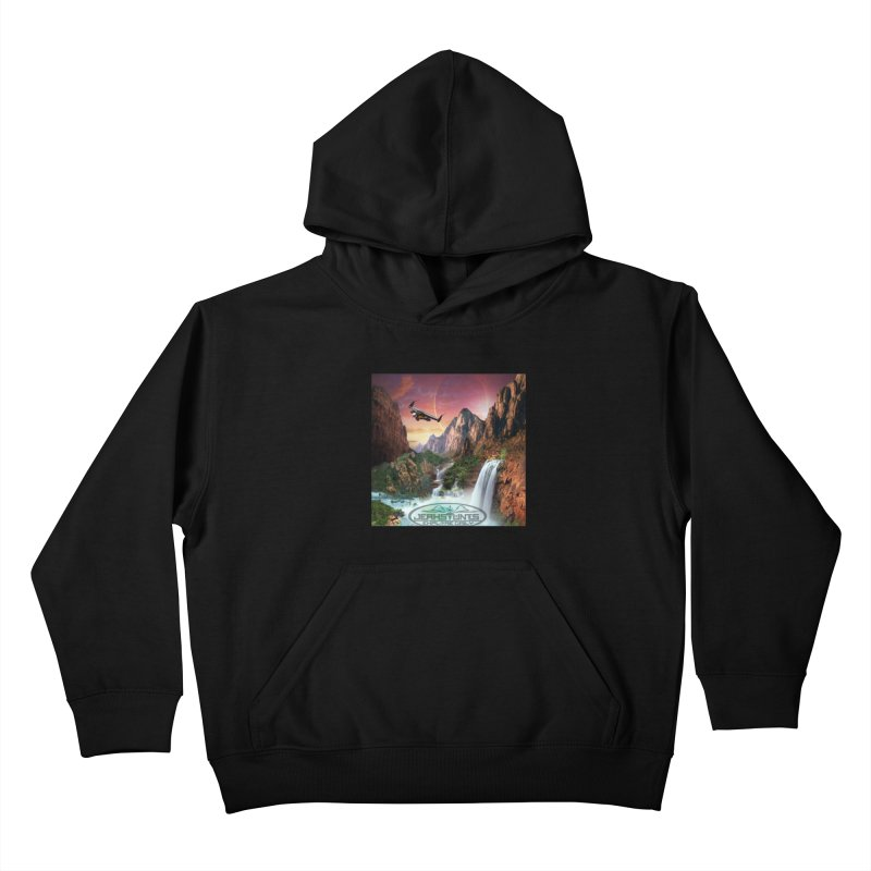 WINGMAN EXPLORE DAILY JERKSTUNTS LIFESTYLE Kids Pullover Hoody by ExploreDaily's Artist Shop