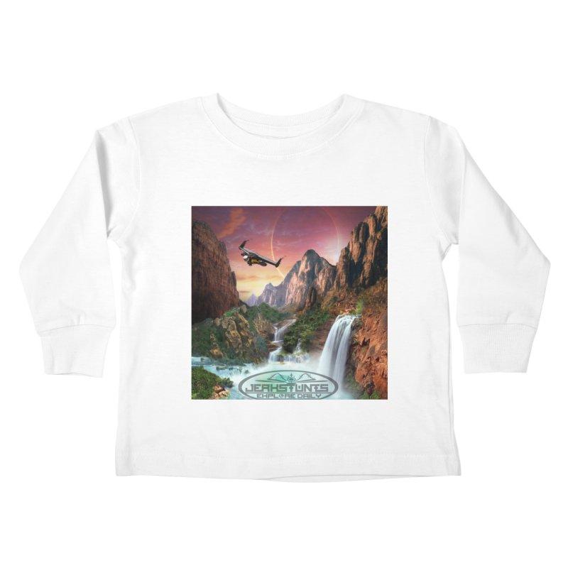 WINGMAN EXPLORE DAILY JERKSTUNTS LIFESTYLE Kids Toddler Longsleeve T-Shirt by ExploreDaily's Artist Shop