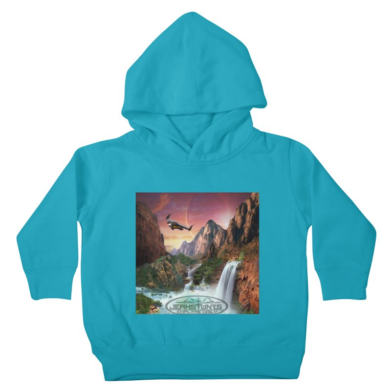 WINGMAN EXPLORE DAILY JERKSTUNTS LIFESTYLE Kids Toddler Pullover Hoody by ExploreDaily's Artist Shop