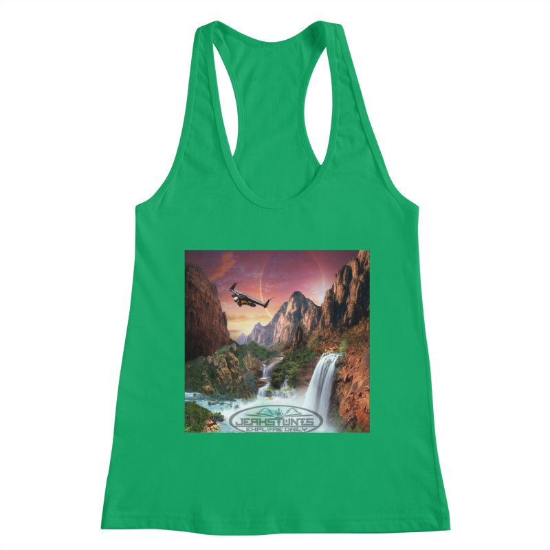 WINGMAN EXPLORE DAILY JERKSTUNTS LIFESTYLE Women's Tank by ExploreDaily's Artist Shop