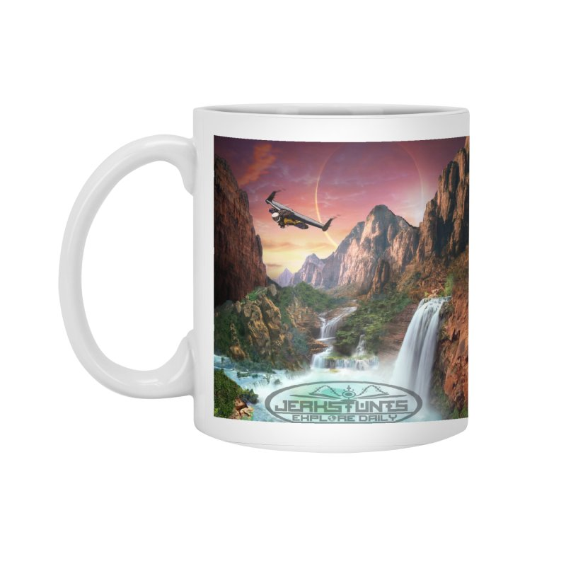WINGMAN EXPLORE DAILY JERKSTUNTS LIFESTYLE Accessories Standard Mug by ExploreDaily's Artist Shop