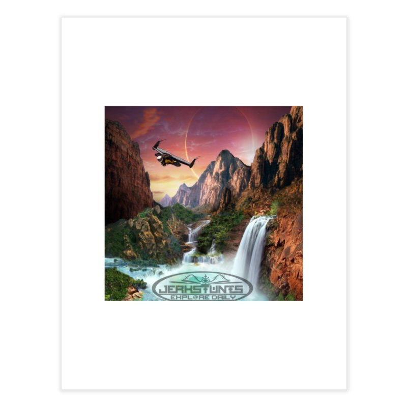 WINGMAN EXPLORE DAILY JERKSTUNTS LIFESTYLE Home Fine Art Print by ExploreDaily's Artist Shop