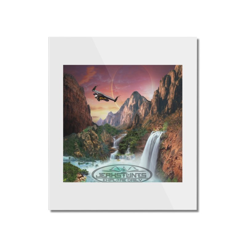 WINGMAN EXPLORE DAILY JERKSTUNTS LIFESTYLE Home Mounted Acrylic Print by ExploreDaily's Artist Shop