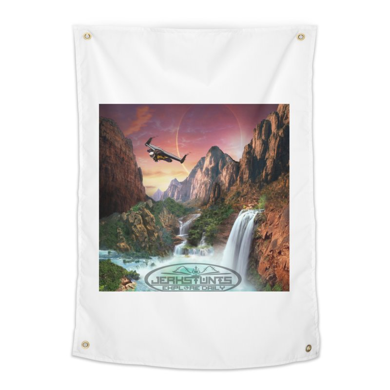 WINGMAN EXPLORE DAILY JERKSTUNTS LIFESTYLE Home Tapestry by ExploreDaily's Artist Shop