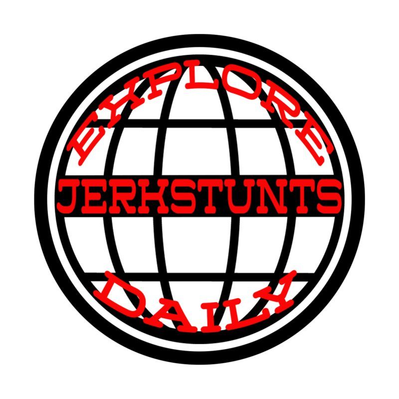 EXPLORE DAILY TECHGLOBE JERKSTUNTS Men's T-Shirt by ExploreDaily's Artist Shop