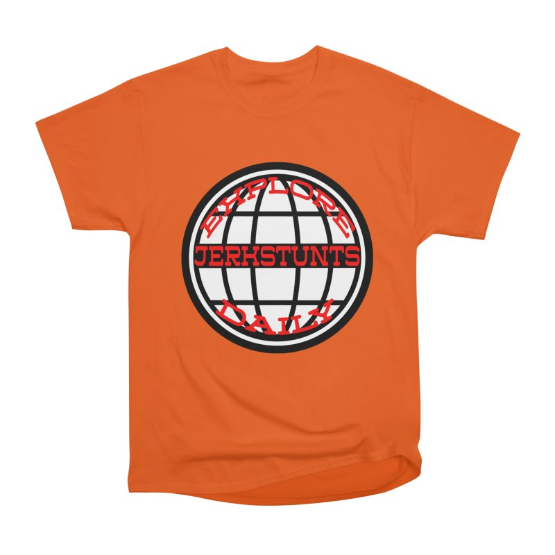 EXPLORE DAILY TECHGLOBE JERKSTUNTS Women's T-Shirt by ExploreDaily's Artist Shop