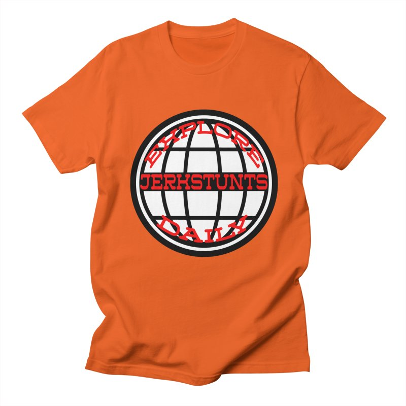EXPLORE DAILY TECHGLOBE JERKSTUNTS Women's Regular Unisex T-Shirt by ExploreDaily's Artist Shop