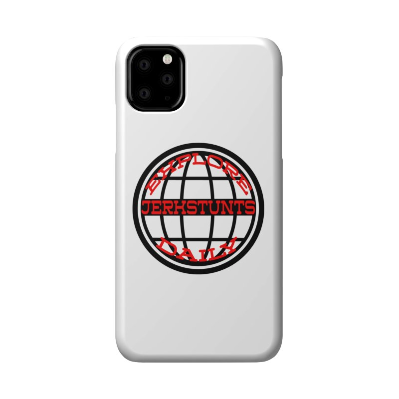 EXPLORE DAILY TECHGLOBE JERKSTUNTS Accessories Phone Case by ExploreDaily's Artist Shop