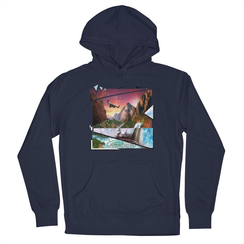 JERKSTUNTS WINGSUIT CYBERTECH HARD REMIX Men's Pullover Hoody by ExploreDaily's Artist Shop