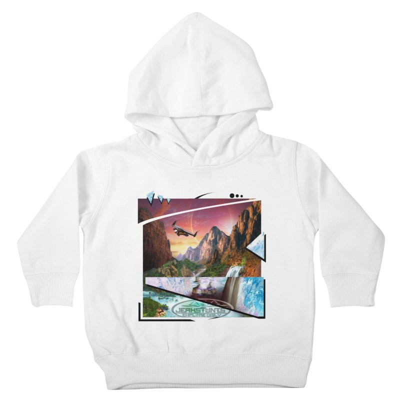 JERKSTUNTS WINGSUIT CYBERTECH HARD REMIX Kids Toddler Pullover Hoody by ExploreDaily's Artist Shop