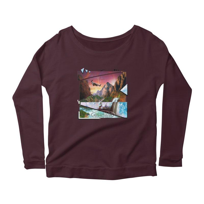 JERKSTUNTS WINGSUIT CYBERTECH HARD REMIX Women's Longsleeve T-Shirt by ExploreDaily's Artist Shop