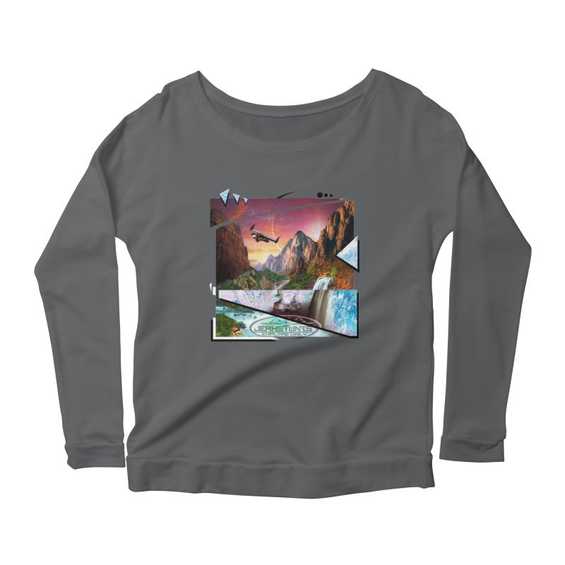 JERKSTUNTS WINGSUIT CYBERTECH HARD REMIX Women's Longsleeve T-Shirt by ExploreDaily's Artist Shop