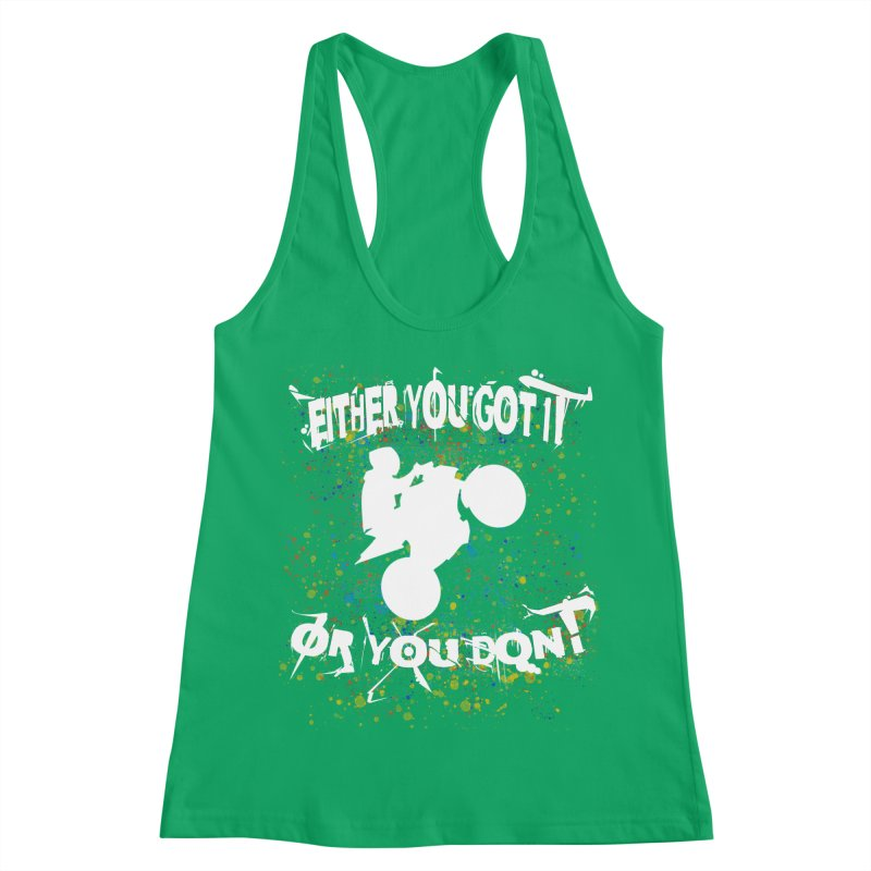 EITHER YOU GOT IT OR YOU DON'T JERKSTUNTS ALBINO Women's Tank by ExploreDaily's Artist Shop
