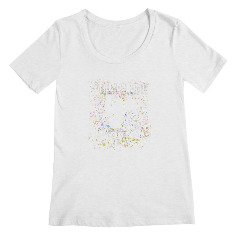 EITHER YOU GOT IT OR YOU DON'T JERKSTUNTS ALBINO Women's Scoop Neck by ExploreDaily's Artist Shop