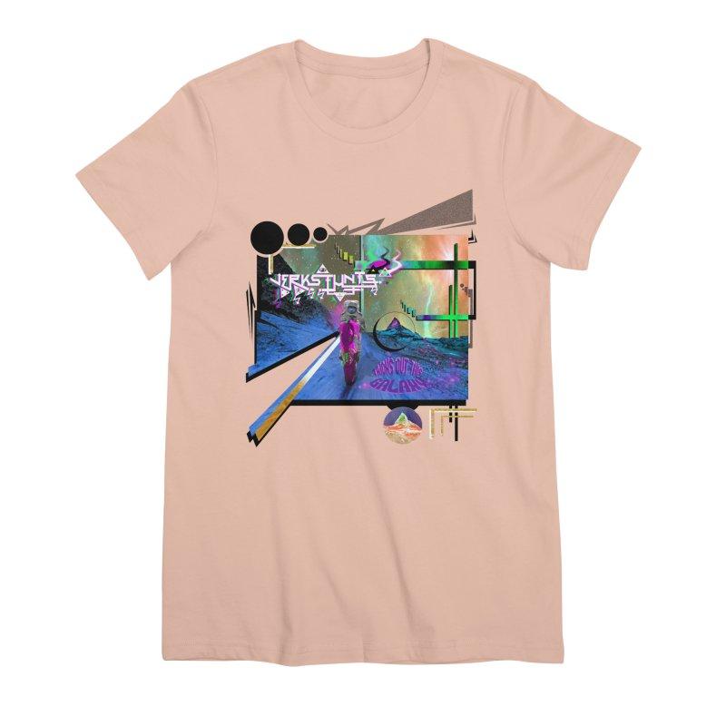 JERKSTUNTS TRICKS OUT THIS GALAXY Women's Premium T-Shirt by ExploreDaily's Artist Shop