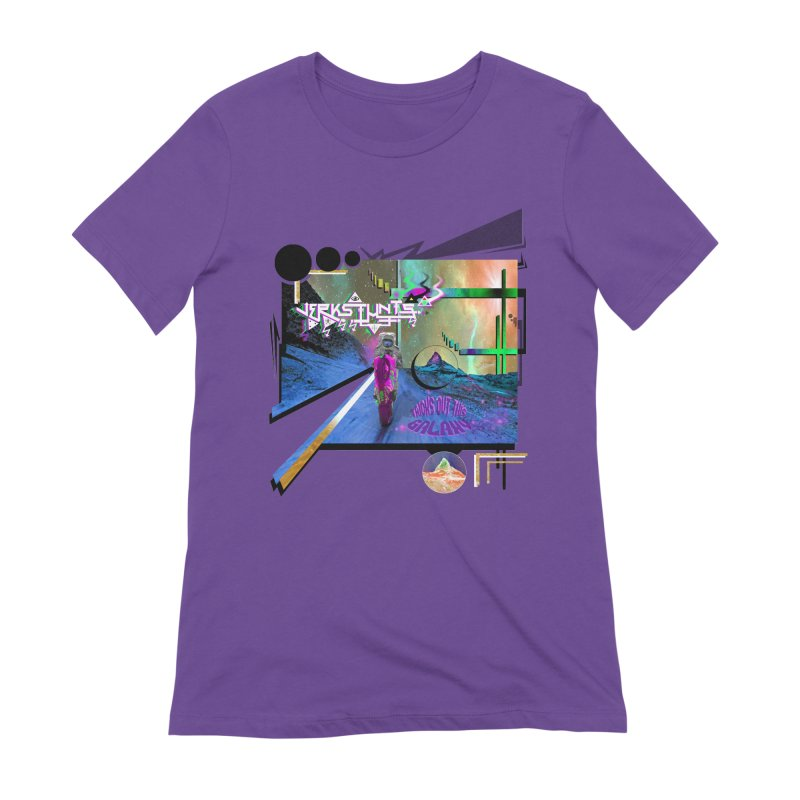 JERKSTUNTS TRICKS OUT THIS GALAXY Women's Extra Soft T-Shirt by ExploreDaily's Artist Shop