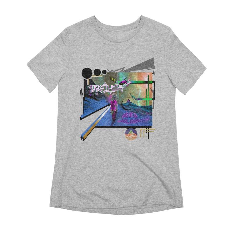 JERKSTUNTS TRICKS OUT THIS GALAXY Women's Extra Soft T-Shirt by ExploreDaily's Artist Shop