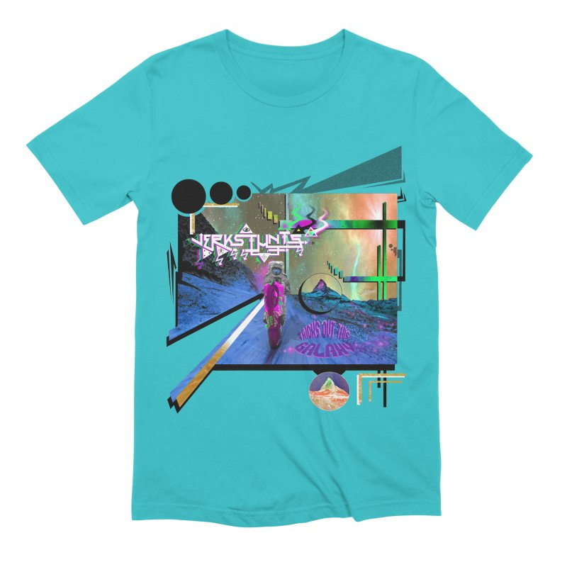 JERKSTUNTS TRICKS OUT THIS GALAXY Men's Extra Soft T-Shirt by ExploreDaily's Artist Shop