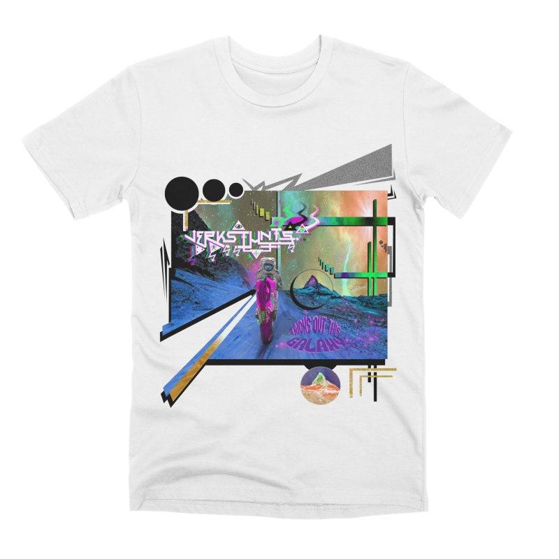 JERKSTUNTS TRICKS OUT THIS GALAXY Men's Premium T-Shirt by ExploreDaily's Artist Shop