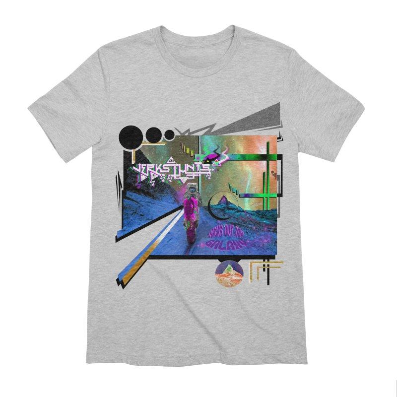 JERKSTUNTS TRICKS OUT THIS GALAXY Men's Extra Soft T-Shirt by ExploreDaily's Artist Shop