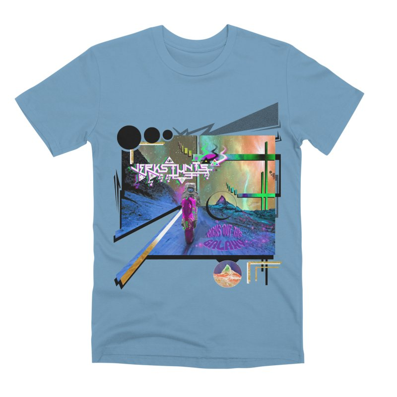 JERKSTUNTS TRICKS OUT THIS GALAXY Men's Premium T-Shirt by ExploreDaily's Artist Shop