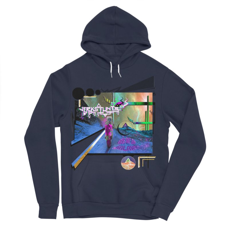 JERKSTUNTS TRICKS OUT THIS GALAXY Men's Sponge Fleece Pullover Hoody by ExploreDaily's Artist Shop