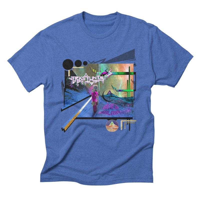 JERKSTUNTS TRICKS OUT THIS GALAXY Men's T-Shirt by ExploreDaily's Artist Shop
