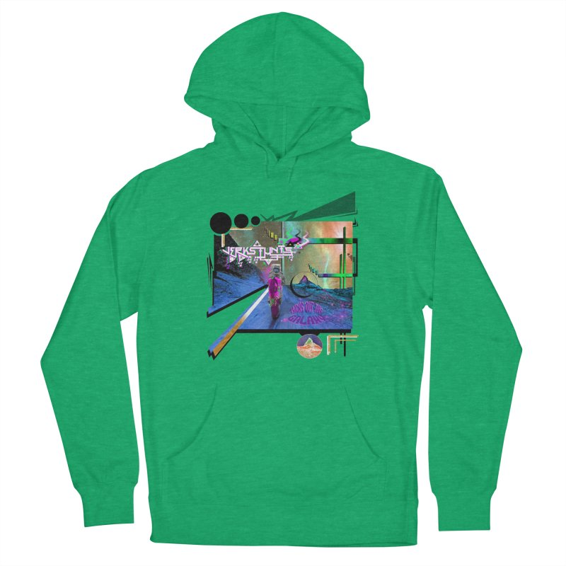 JERKSTUNTS TRICKS OUT THIS GALAXY Women's Pullover Hoody by ExploreDaily's Artist Shop