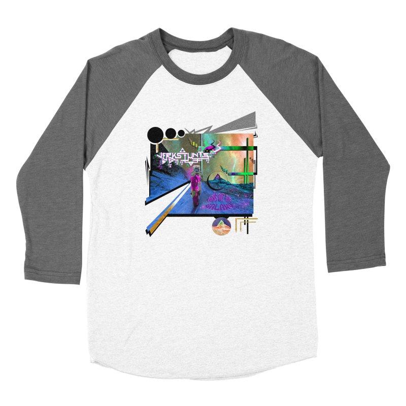 JERKSTUNTS TRICKS OUT THIS GALAXY Men's Baseball Triblend Longsleeve T-Shirt by ExploreDaily's Artist Shop