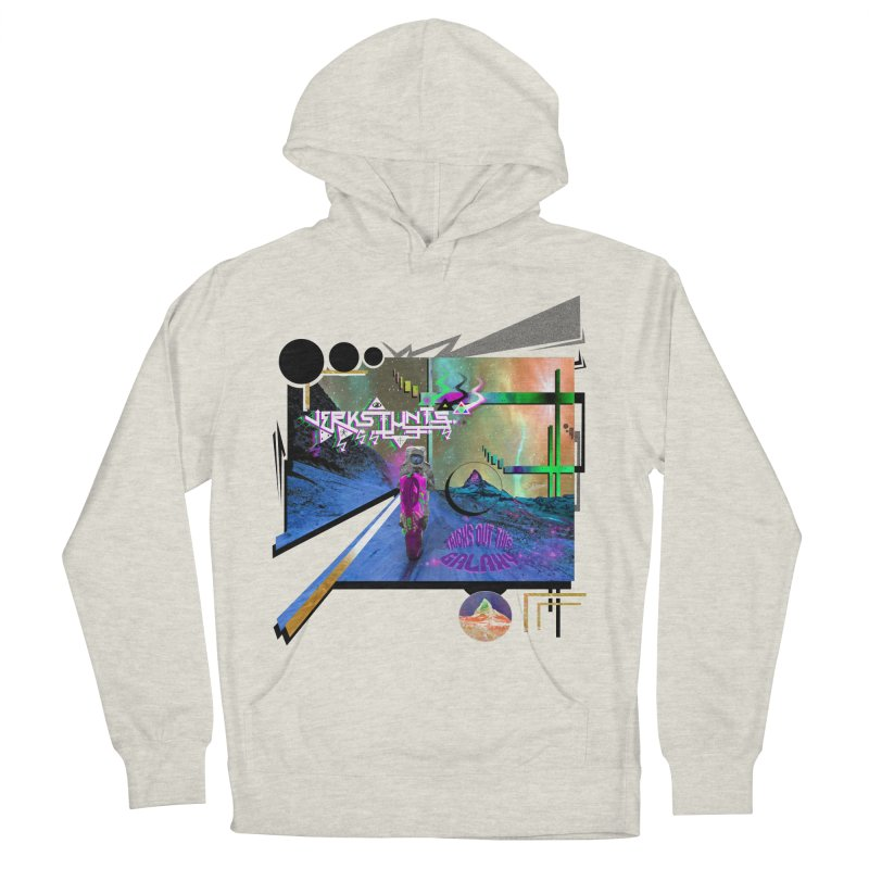 JERKSTUNTS TRICKS OUT THIS GALAXY Women's French Terry Pullover Hoody by ExploreDaily's Artist Shop