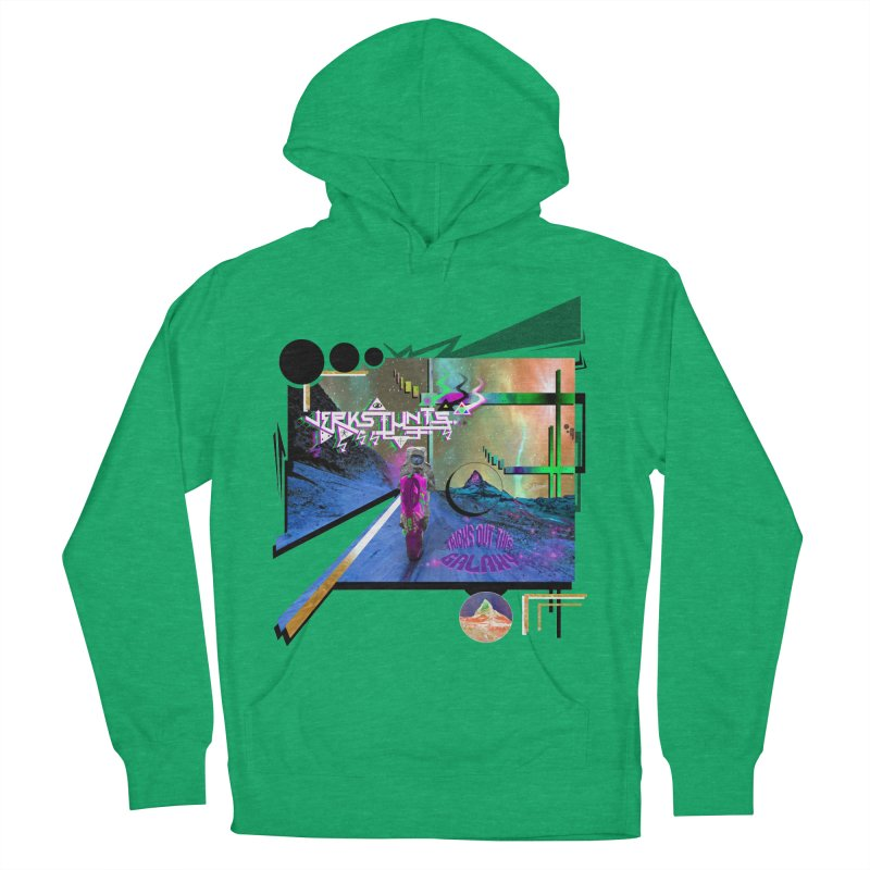 JERKSTUNTS TRICKS OUT THIS GALAXY Men's French Terry Pullover Hoody by ExploreDaily's Artist Shop
