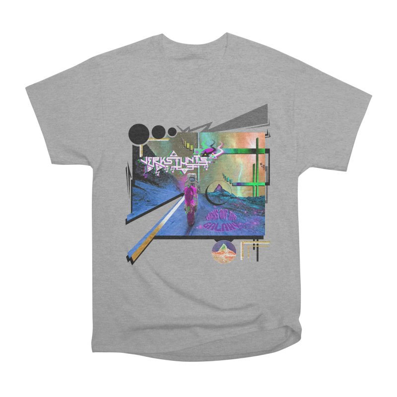 JERKSTUNTS TRICKS OUT THIS GALAXY Men's Heavyweight T-Shirt by ExploreDaily's Artist Shop