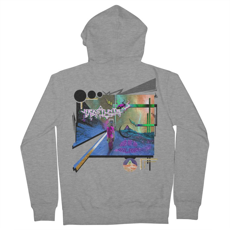 JERKSTUNTS TRICKS OUT THIS GALAXY Women's French Terry Zip-Up Hoody by ExploreDaily's Artist Shop