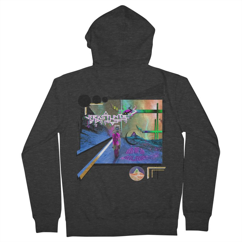 JERKSTUNTS TRICKS OUT THIS GALAXY Men's French Terry Zip-Up Hoody by ExploreDaily's Artist Shop