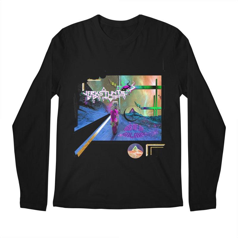 JERKSTUNTS TRICKS OUT THIS GALAXY Men's Regular Longsleeve T-Shirt by ExploreDaily's Artist Shop